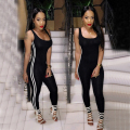 2016 New Fashion Black Women Women Jumpsuit Sexy Elastic Bandage Bodycon Bodysuit Skinny Romper Casual Fitness Overalls Macacao