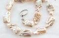 6688 fayan 001471 rosa barroco cultivadas de agua dulce collar de perlas