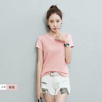 Summer T Shirt Women 2018 Womens Tops White Tshirt Korean Pink T Shirt Femme Plus Size Poleras De Mujer Casual Camiseta Femenina