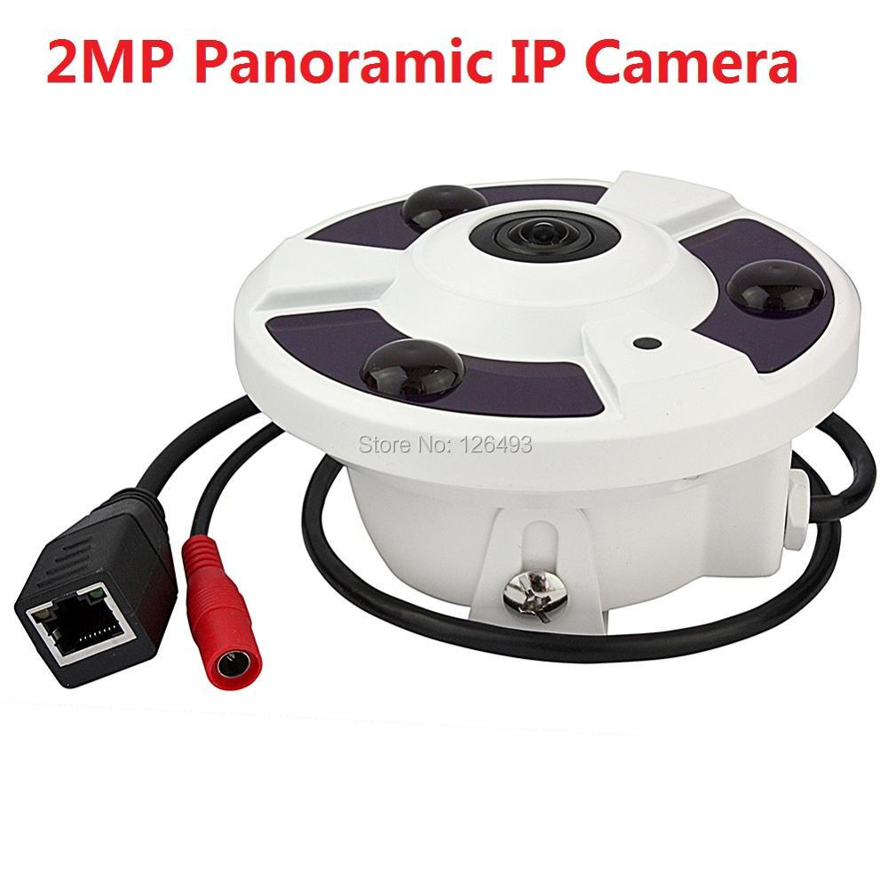 ФОТО HD 1080P IP Camera  Fisheye Lens 2.0 Megapixel Panorama View 360 Degree Panoramic 2MP IP Camera IR Night Vision Onvif