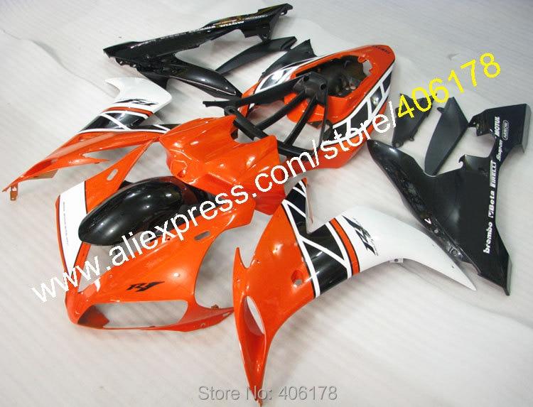 Горячие продаж, Abs кузов для 2004 2005 2006 YZF R1 YZFR1 04 05 06 YZF-R1 оранжевый многоцветные зализа комплект ( литья под давлением )