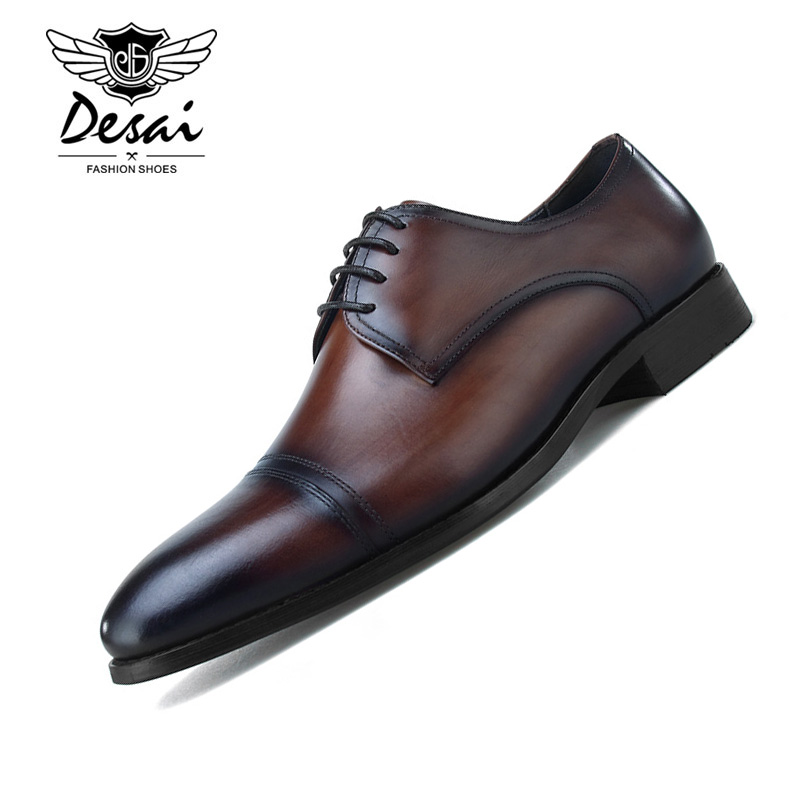 2019 New Mens Business Dress Shoes Excellent Quality Pointed Genuine Leather Breathable Formal Shoes Men Wedding Party Shoes2019 New Mens Business Dress Shoes Excellent Quality Pointed Genuine Leather Breathable Formal Shoes Men Wedding Party Shoes