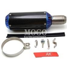 universal motorcycle accessories exhaust pipe For yamaha kawasaki suzuki ktm honda bwm benelli ect
