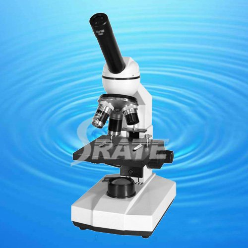 40X-400X Monocular Head Bio-Microscope with Lamp and Coaxial Coarse and Fine Focusing Adjustable Mechanism 14mm TXS03-01C 40x monocular dissecting stereo microscope up right image rotatable head with 2x objective and wf20x eyepiece