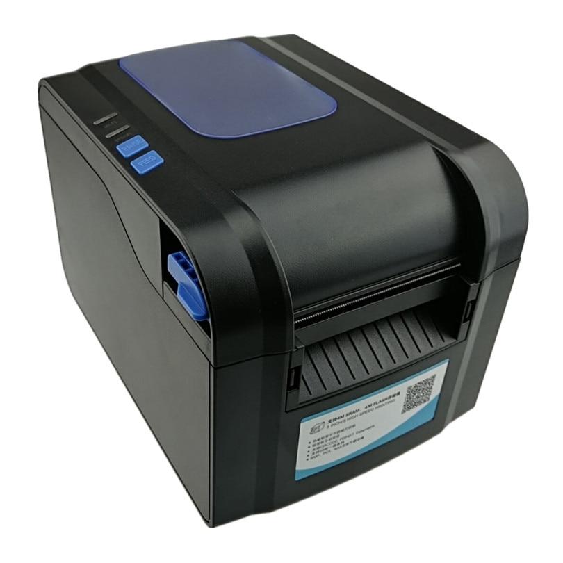 label sticker receipt printer Barcode QR code small ticket bill POS printer Support 20 80mm width