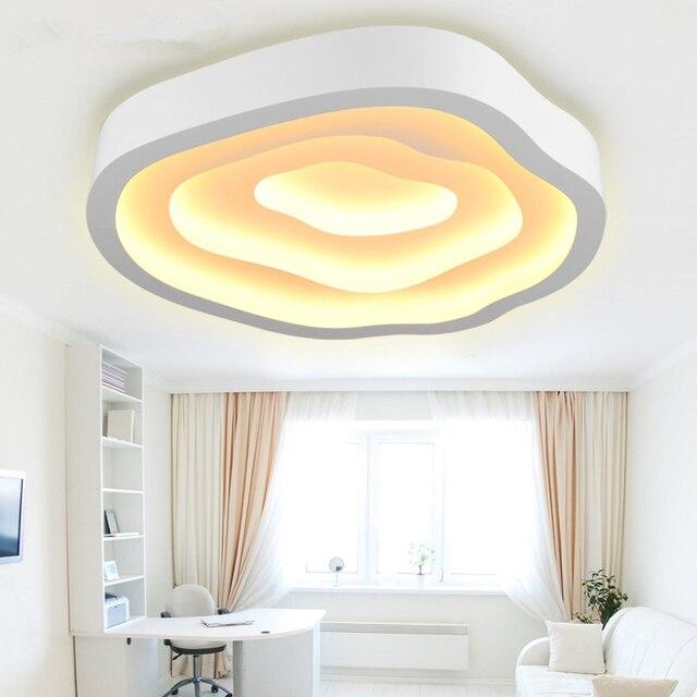 US $339.63 15% OFF|3D Wolke Moderne Led deckenleuchten für Wohnzimmer  Metall Eisen Schlafzimmer Küche Beleuchtung Deckenleuchte Leuchte Glanz Bad  in ...