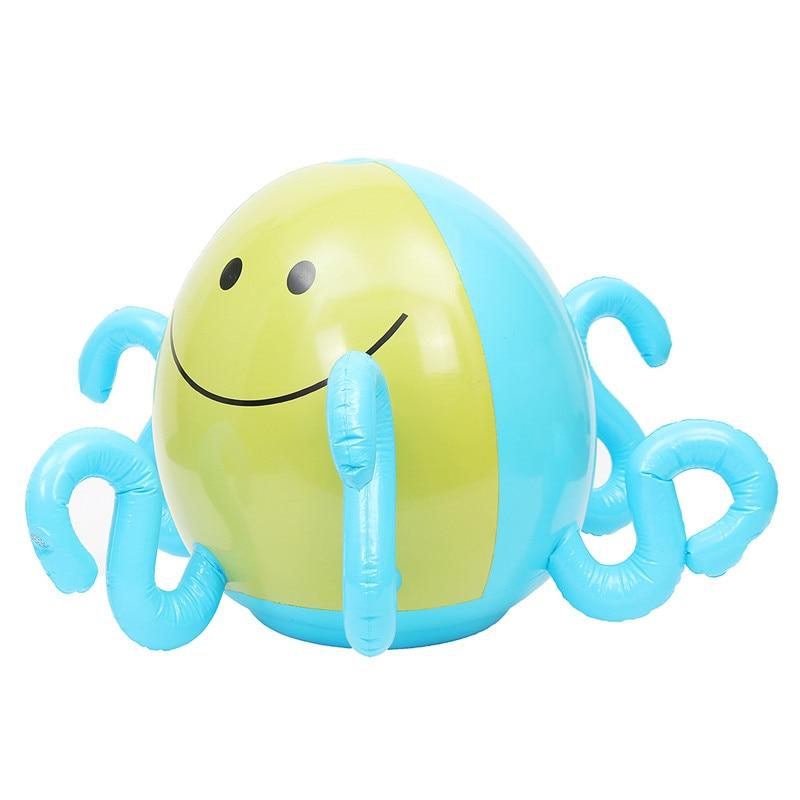 Enfants gonflable boule de pulvérisation d'eau arroseur pieuvre gicleur pelouse piscine jouet amusant PVC piscine de bain en plein air piscine d'eau et accessoires