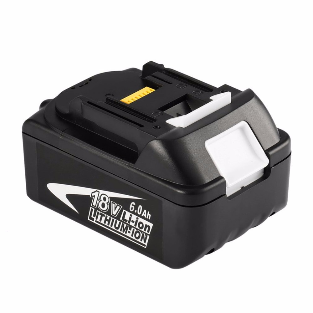 GTF 18V 6000Mah Cordless Power Tool Battery for Makita 194309 BL1815 BL1830 BL1840 BL1860 Replacement Li ion Battery Accumulator in Replacement Batteries from Consumer Electronics