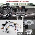 Камера Заднего вида Для Honda CRV CR-V 2012 ~ 2015-Back Видеокамера Заднего Хода Комплекта RCA и Оригинальный Экран Совместимость