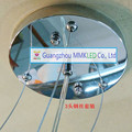 Placa do teto do candelabro iluminação Acessórios DIY 3 corda De Aço Acessórios