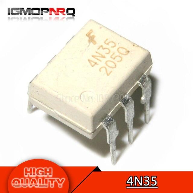 10 teile/los 4N35 DIP6 photoelektrische koppler neue original kostenloser versand