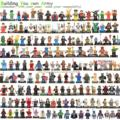 8pcs Super Heroes Star war Avenger Kid Baby Toys Figure Building Blocks   X-Men Daredevil Hawkeye Fantasti4