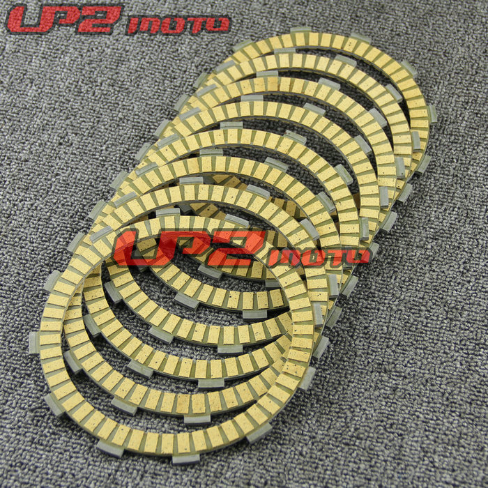 For Suzuki <font><b>DR650</b></font> SET/SEV 1996-2012 Paper Based Clutch Friction Kit Disc Plates Set Motorbike <font><b>Parts</b></font> Accessories image