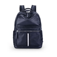 S P L Backpack Women And Men Cusual Leather Black Backpack Mochilas Fashion School Bags Backpacks