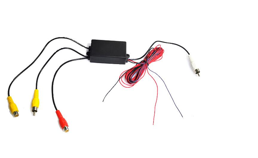 Car Parking Camera Video Channel Converter Auto Switch Front /reverse/Rearview Rear View Camera Video Control Box Car Camera