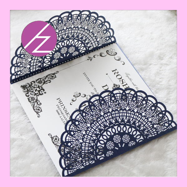 Wedding Invitations Business: 50pc Wedding Invitations Card Place Card Love Theme