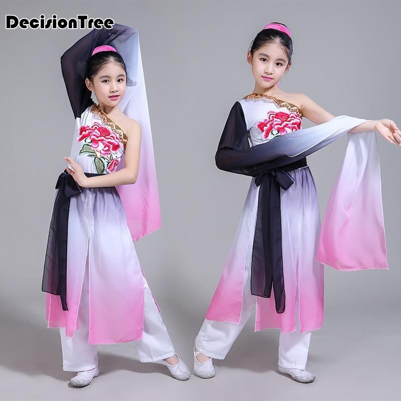 2019 new baby girl princess party dance costumes performing veil tutu dance dress vestidos chorus clothes girl dance dress