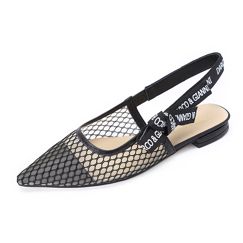 c8a7c551e0161e 2017 Womens new Slingback Pump Shoe Dress Sandals Slip On Lace Mesh Pointed  Toe High Mid Kitten Low Heel Ladies Wedding shoes-in Women s Pumps from  Shoes on ...