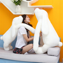 1pcs 90cm/120cm big size Korea long arms cute Rabbit plush toy doll creative nap sleep big pillow lover gift female rabbits