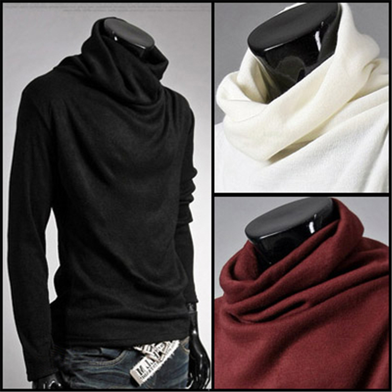 482f4df95 Hot sale Autumn Men clothing New Fashion Turtleneck sweater coat Men ...