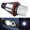 2x Car 6000 K Branco 5 W Olhos de Anjo LEVOU Lâmpada de Luz Para BMW E39 E53 E60 E61 Bridgelux Chip de LED Marcador Angel Eyes para BMW E39