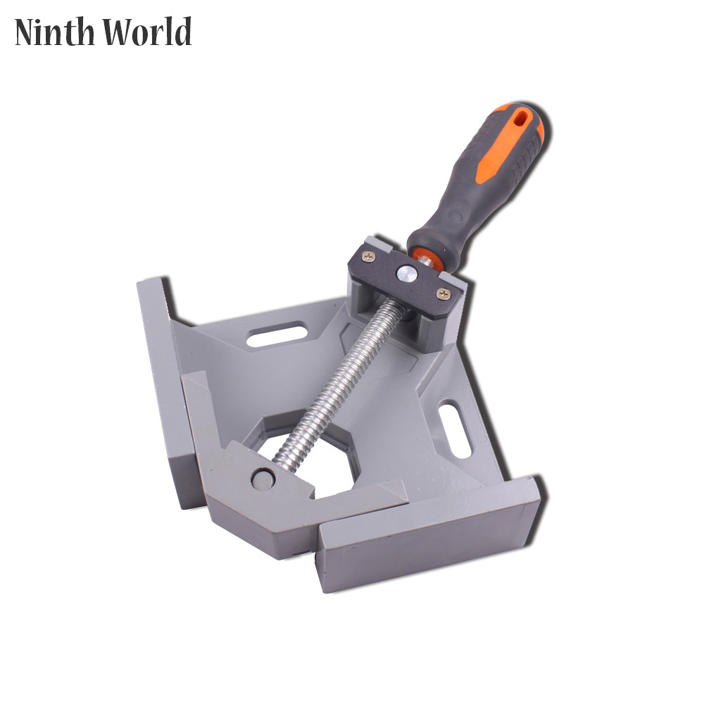 Ninth World New  Single Handlealuminum 90 Degree Right Angle Clamp Angle Clamp Woodworking Frame Clip Right Angle Folder Tool ninth world new single handlealuminum 90 degree right angle clamp angle clamp woodworking frame clip right angle folder tool