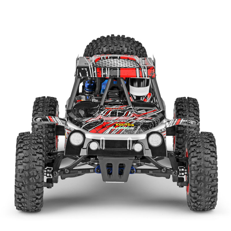 42CM Wltoys 1 12 4WD Big RC Cars 2 4G High Speed Off Road Trucks Upgraded