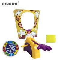Karşısında Shocker oyuncak Kek Krem Pasta Aile Partisi Eğlence oyunu Komik Gadgets Prank Geyik Şakalar Anti Stres Oyuncaklar çocuklar Için hediye