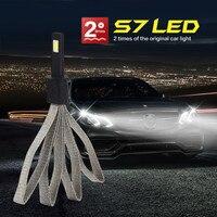 1 Set H1 Car LED Headlight Light Bulb Kit Set Conversion White 60W 6400LM 6000K Car Light Car Electronics Accessories COB-XM-L2