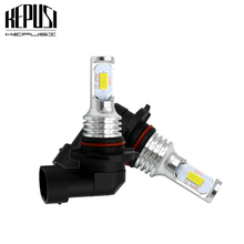 2x 9006 HB4 Led Fog Light Bulb Auto Car Motor Truck Error Free LED Bulbs Canbus Driving Lights DRL Lamp 12V for Car White canbus 10pcs ba9s 24smd 4014 led car light bulb parking lights canbus error free auto lamp led for mercedes w210 e420