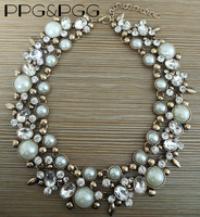 2015 New Fashion Women Jewelry Za Brand Green Crystal Statement Necklace Choker Collar Ladies Accessories Hot