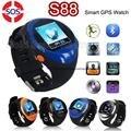 Original ZGPAX SOS Bebê S88 Relógio Inteligente para As Crianças Mais Velhas U Smartwatch com Slot SIM Tela LCD GPS Posição LBS localização