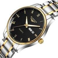 Sapphire Watch Men GUANQIN Mens Watches Top Brand Luxury Quartz Watch With Luminous Calendar Week Waterproof