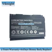 8-Cells 6-87-X510S-4D72 Battery P150HMBAT-8 For Clevo P150EM P150HM P150HMX P150SM P151 P151EM Laptop 14.8V