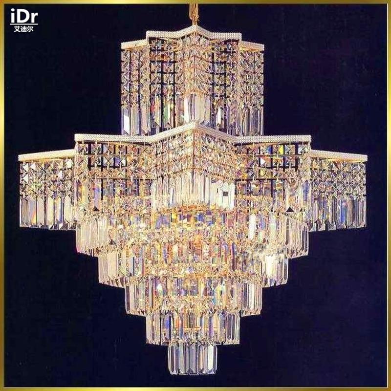 Люстры самые современные Металл Железный Люстра лампы освещения моды D80CM x h90cm