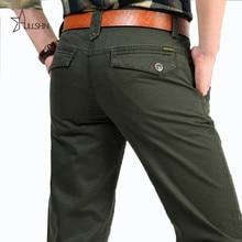 Armee-grün Jacke 100% Reiner Baumwolle männer Cargohose, Ursprüngliche Marke Echte Männer Lösen Insgesamt Hosen 2153