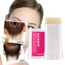 Практичный женский Небольшой сломанный крем для отделки волос портативный освежающий Стайлинг фиксирующая Восковая Палочка стойкий моделирующий воск для волос TSLM1