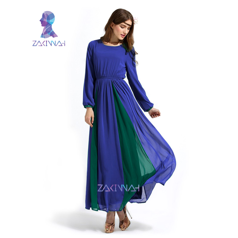 10014 New summer style daewoo nexia ladies candy colors muslim dress chiffon daewoo nexia islamic salah long dress daewoo nexia