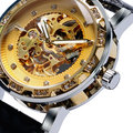 Luxury Hollow Design Mechanical Watch Men High Quality Mens Wrist Watches Male Casaul Clock relogio masculino W185201