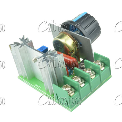 2000w 220v Ac Scr Electric Voltage Voltage Regulator