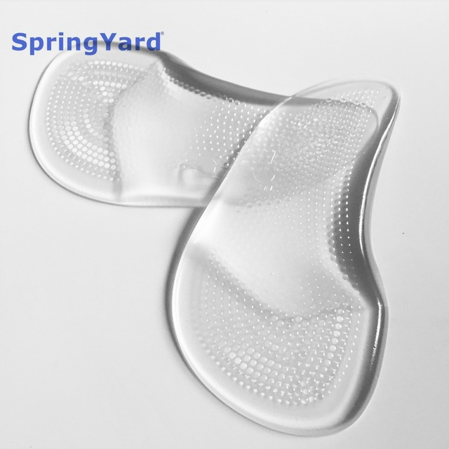 Gel 3/4 High Heels and Sandals Arch Support Cushion Shoe Insole Pad Flat Foot Orthopedic Insoles for Shoes Woman