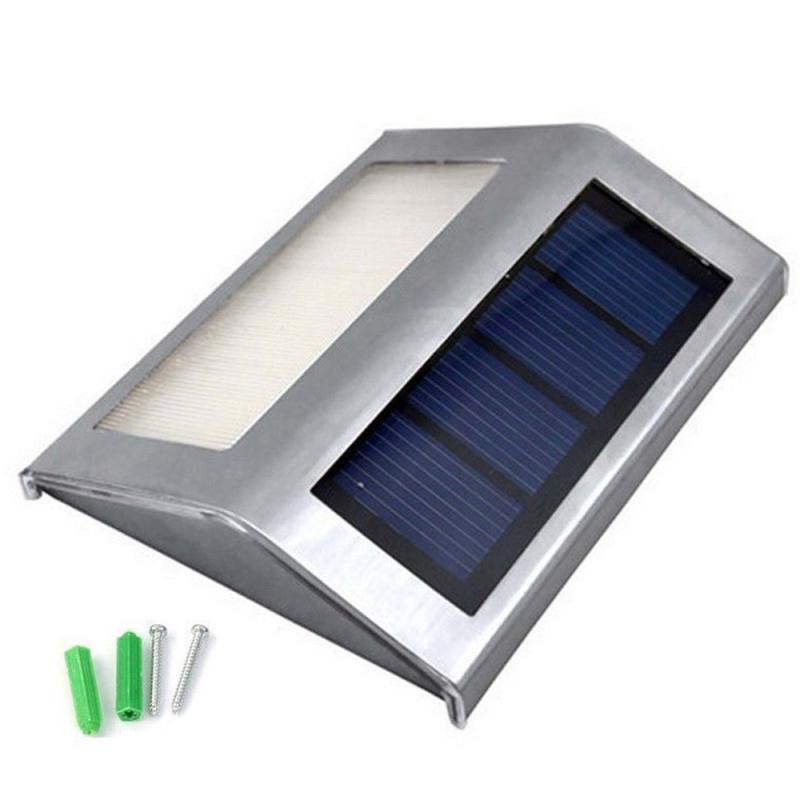 MUQGEW LED Light Solar Power Light Wall Lamp Garden Light Waterproof Motion Sensor solar charging for lighting and decoration
