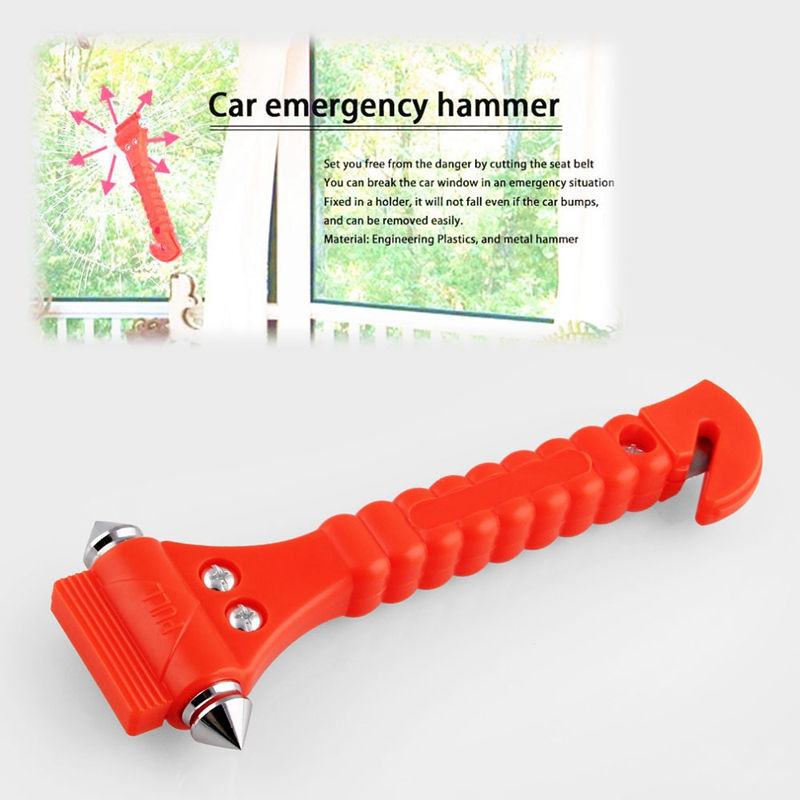 BMBY-Car Window Glass Seat Safety AUTO Emergency Life-Saving Hammer Belt Cutter Tool