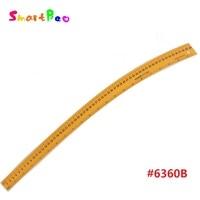 60 cm Plastica Durevole Varia Forma Curva Righello con Sandwich linea per Zona Artigianale Fabbricazione Del Modello Per Cucire 1.2mm di Spessore # 6360B