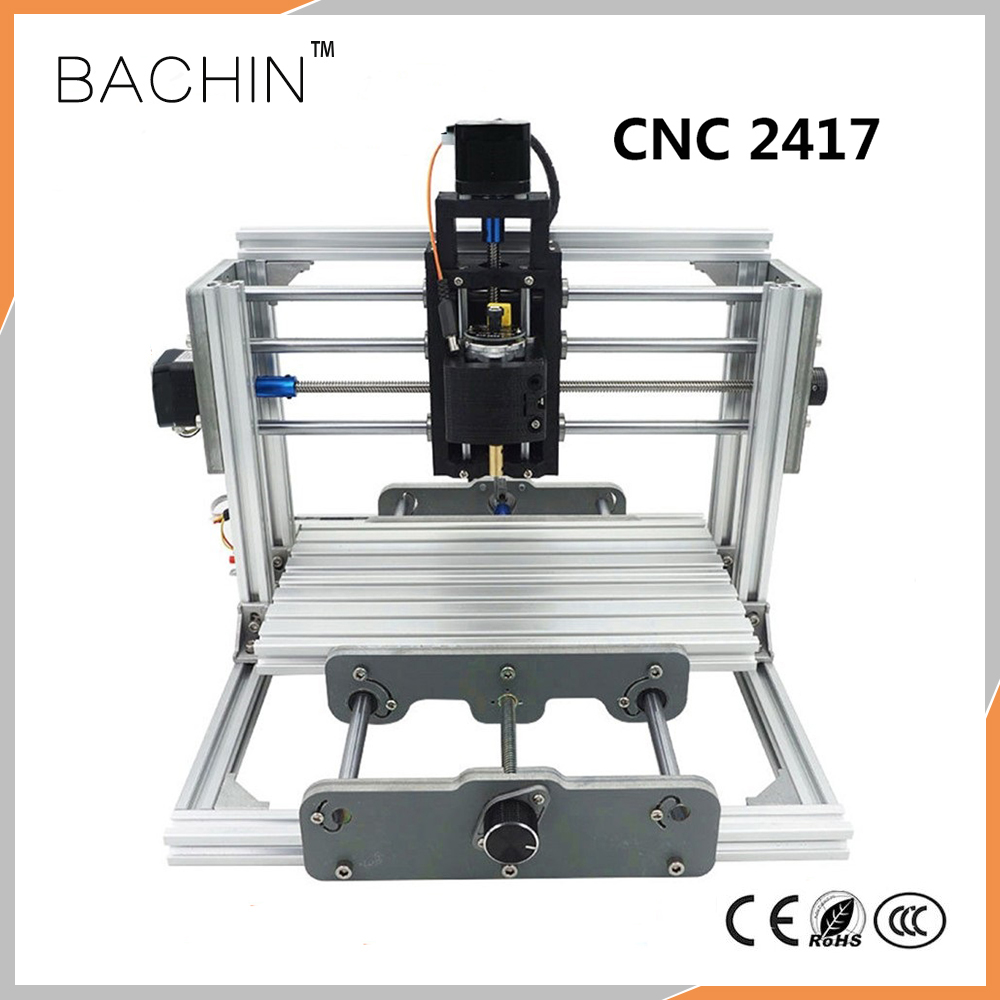 US $163 8 22% OFF|CNC2417 DIY CNC Laser Engraving Machine 3axis Mini  Milling Cutting Machine, PCB Metal Wood Carving Machine, GRBL CNC Router-in  Wood