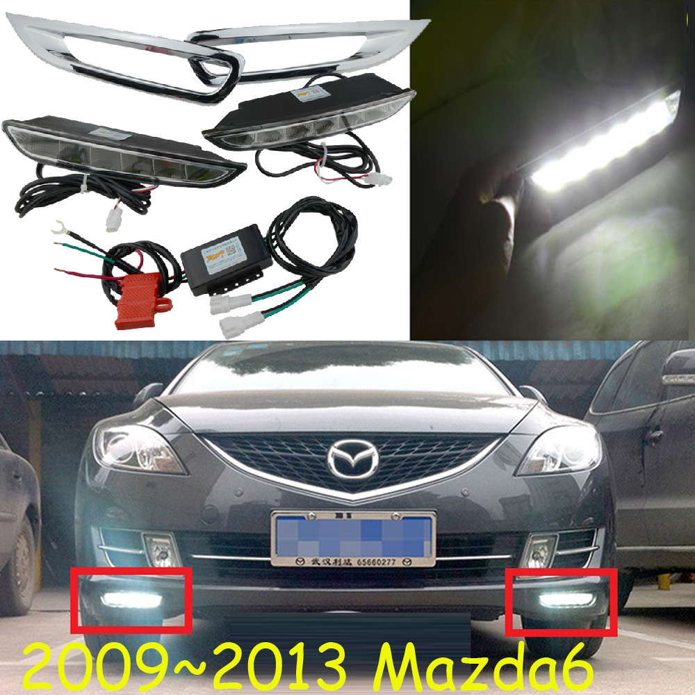 2009~2016 mazd 6 daytime light,atenza daytime light,Free ship!LED,MAZD6 fog light,mada,2ps/set;atenza fog light mazd6 atenza taillight sedan car 2014 2016 free ship led 4pcs set atenza rear light atenza fog light mazd 6 atenza axela cx 5