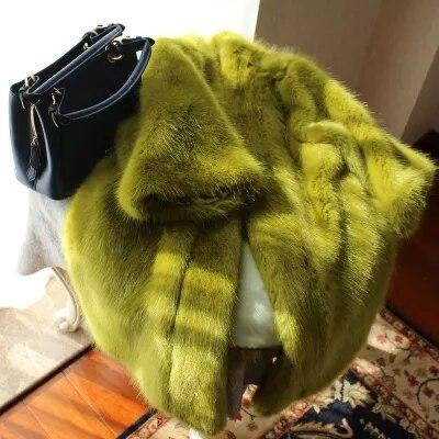 New Style High-end Fashion Women Faux Fur Coat 17S36