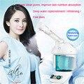 Hot nano vaporizador vapor de ozono Spa facial Dispositivo Pele facial Clareamento Da Pele Hidratante Vapor de Ozônio Facial Névoa Fogger