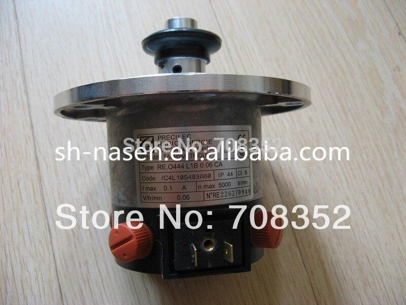KONE tachogenerator KM276027,  KONE tachometer generator RE.O444 L1B 0.06 CA