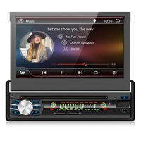 Android Car Radio Tape Recorder Audio Stereo for Universal Autoradio DVD Player 1Din Car GPS Navigation Steering Wheel Wifi Map